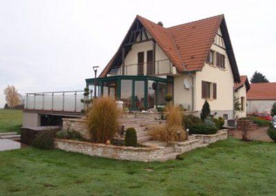 Maison individuelle avant extension