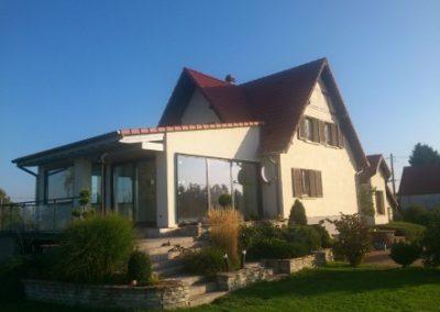 Maison individuelle après extension
