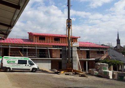 Déroulé de chantier maison briques